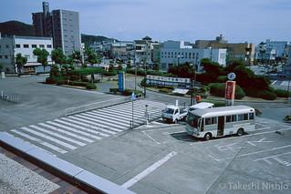 播州赤穂駅前 / In front of Bansyu Ako sta.