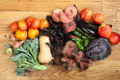 2012 Stone Ledge Farm Share (Week 13)