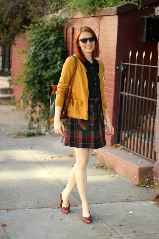 Plaid skirt 1