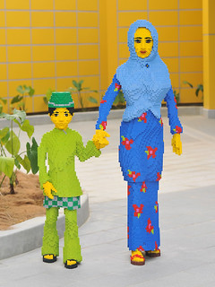 Lego Malay family