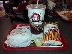 Petite pause au Burger King !