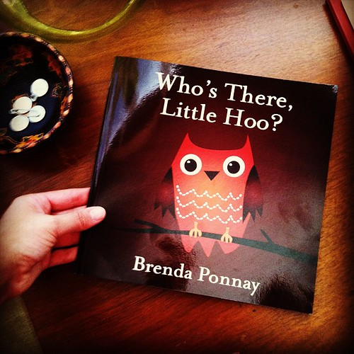 Yay! Little Hoo first proof! I'm really excited about this one.( Due out in a few weeks.)