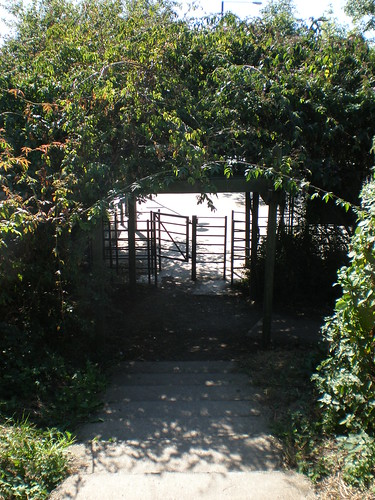 Exit from Mudchute Farm