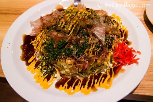 Okonomiyaki at Teppanyaki Kyoto Restaurant