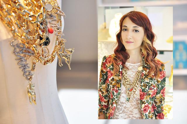 Ana dello Russo at H&M collection preview (22)
