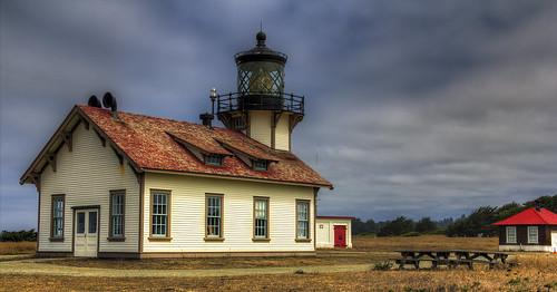 lighthouse pacificocean hdr mendocinoca pointcabrillolighthouse pointcabrillolightstation pjm1 20120901 20120910 pedromarenco