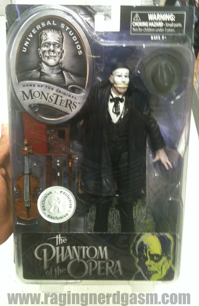 Universal Studios Monsters 7-8 inch figures by DiamondThe Phantom of the Opera 004