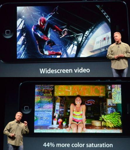 Полноэкранный режим и цвета на iPhone 5