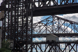 Aerial lift bridge - Illinois / Indiana Border