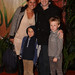 Damien Leith and his wife Eileen and children