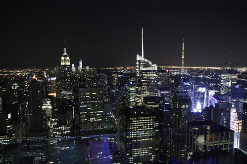 View of Time Square from Top of the Rock