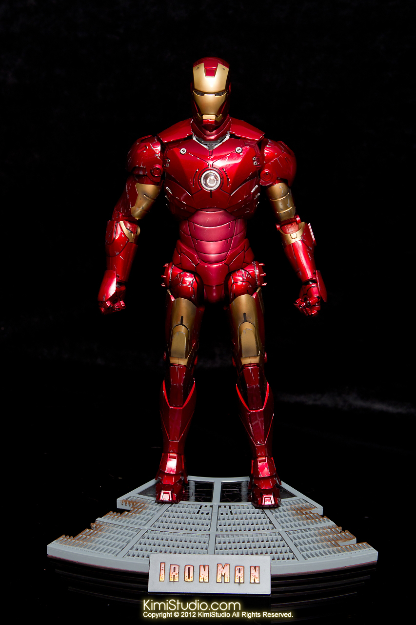 2012.09.13 MMS110 Hot Toys Iron Man Mark III 戰損-025