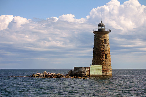 Whaleback Lighthouse by nelights