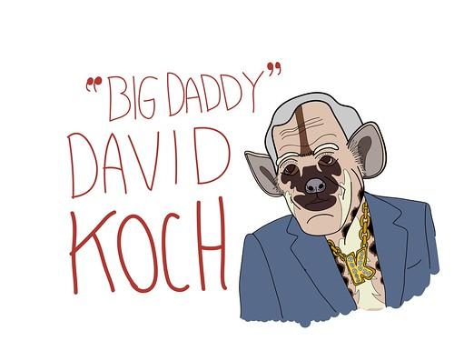 Hyena David Koch