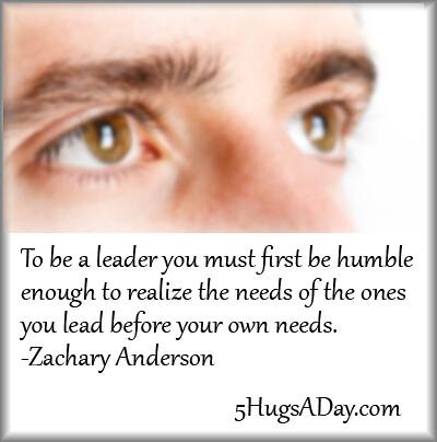 How To Lead via @5hugsaday | 5HugsADay.com