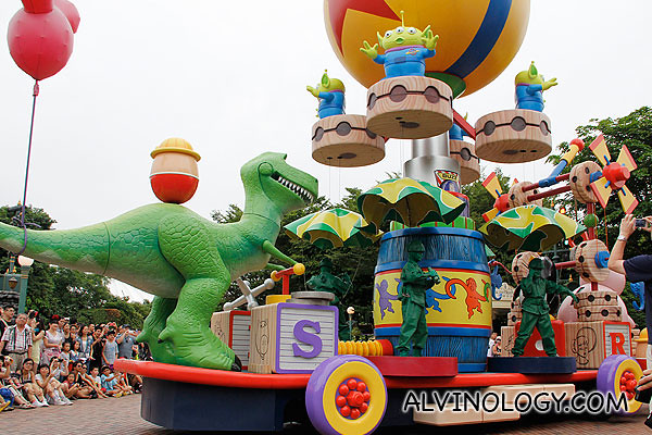 The Toy Story car