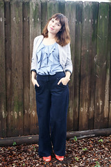 Colette Juniper denim trousers