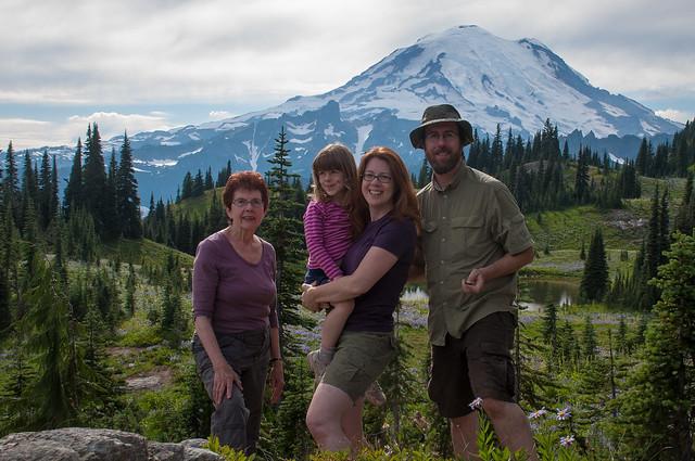 Family at Rainier