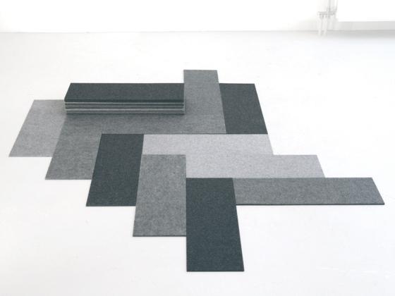 Felt Floor by Charlotte Lancelot