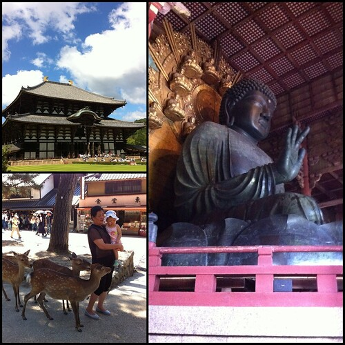 Visiting Todaiji again in Nara