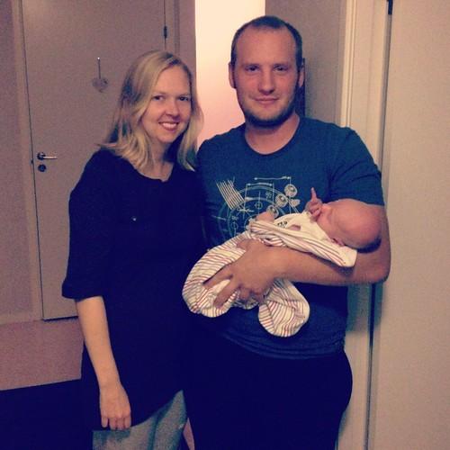 Nya fina familjen!