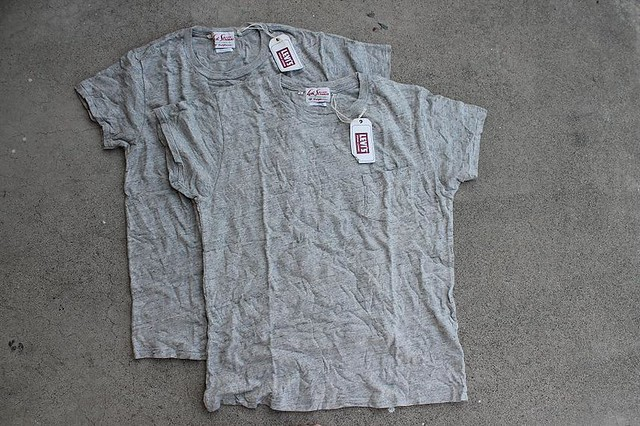 Bnwt lvc 1950 39 s t shirts sz l xl denimbro for Levis vintage denim shirt 1950 sawtooth slim fit