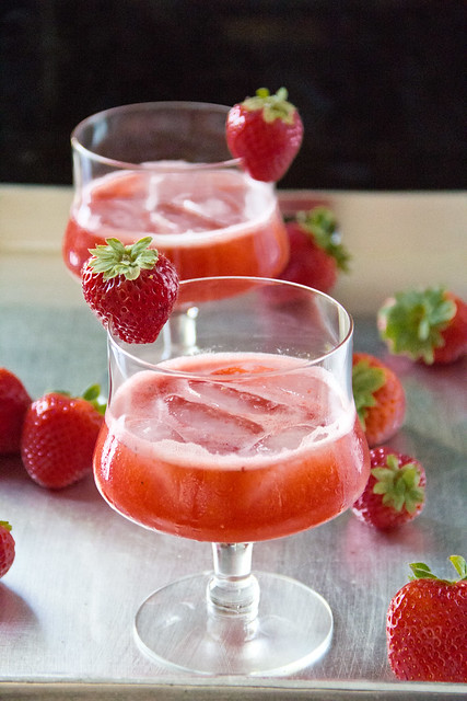 Strawberry Sweet Revenge Margarita