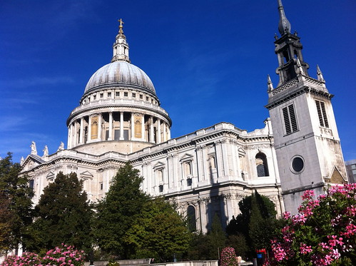 Monument & St Paul's Cathedral, London