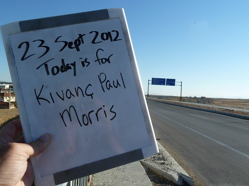 Today is for Kivanc Paul Morris by mattkrause1969