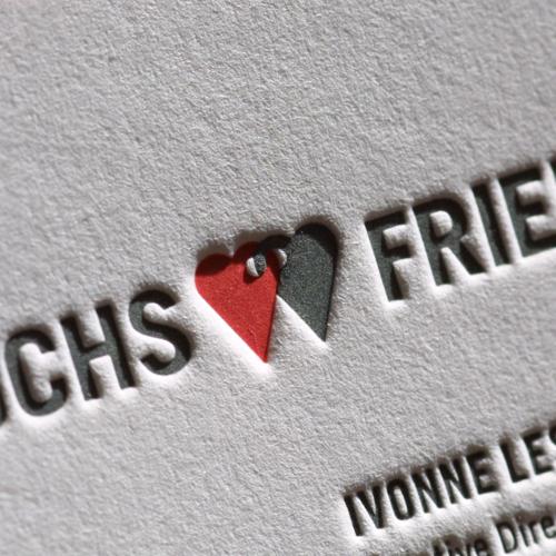 Visitenkarten Letterpress Visitenkarten Letterpress Mit Fa