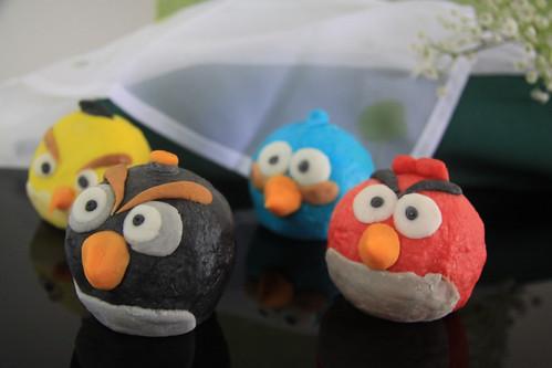 Angry Bird Mooncake