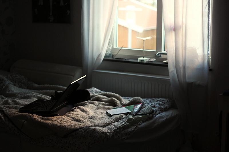 fint ljus i mitt rum