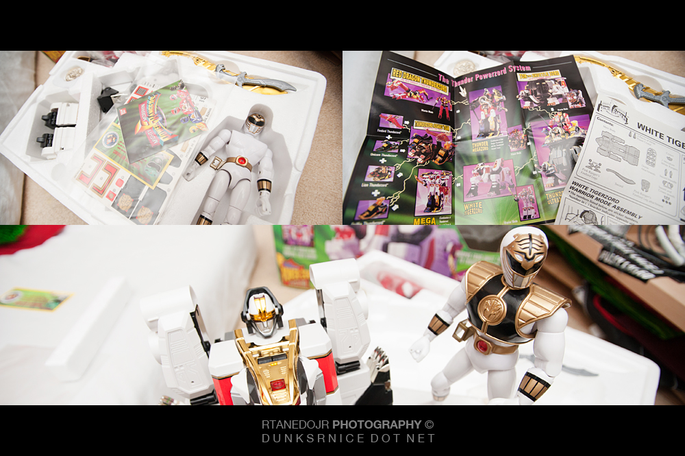 267 of 366 || White Ranger & Tigerzord.