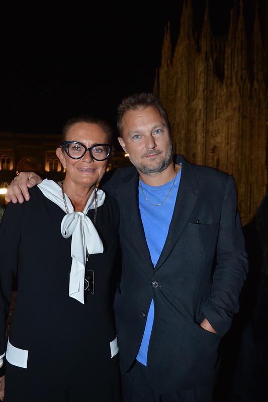 Rossella Jardini con Juergen Teller