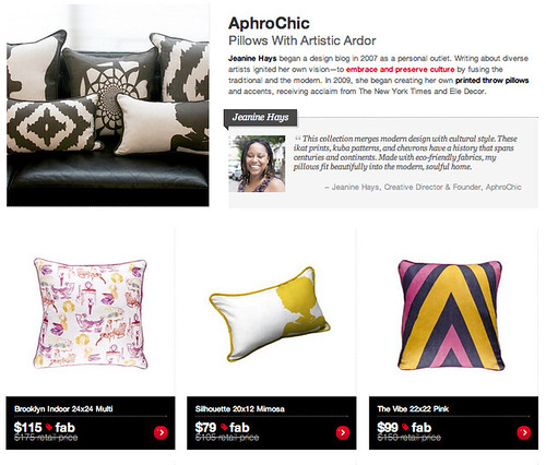 AphroChic Featured on Fab.com