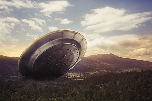 UFO crash by Fer Gregory