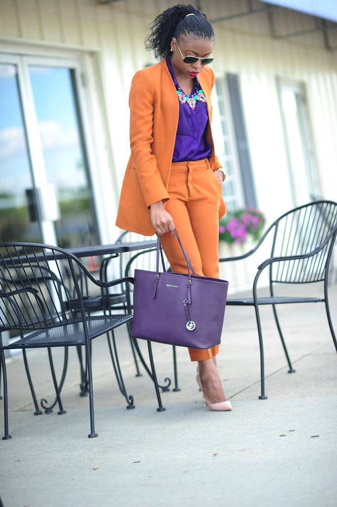 Fall Mix- Mustard & Purple by www.jadore-fashion.com 0