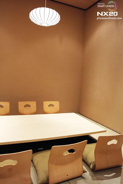Miraku tatami room