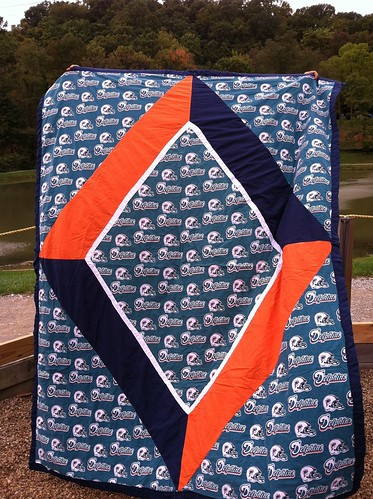 Rylans Miami Dolphins Quilt