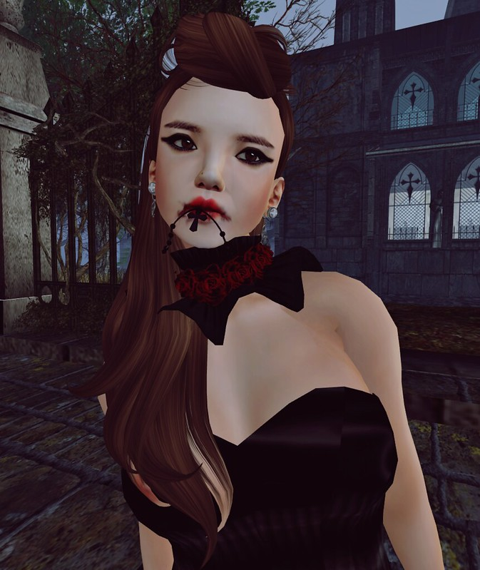 Bubblez Design new release - Lolita Vampiress outfit2