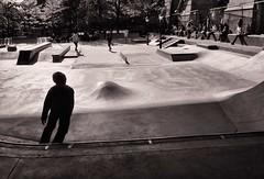 Skating - Coleman Playground - Under the Manhattan Bridge