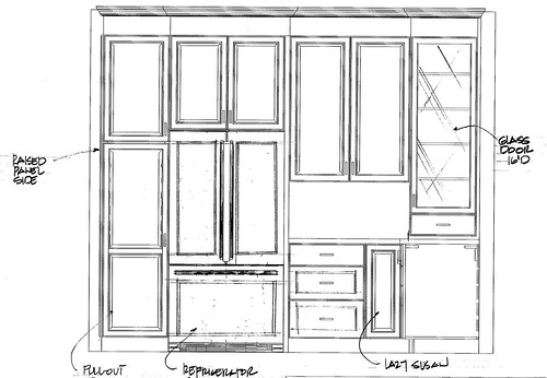 kitchen plan 1 - side view 3
