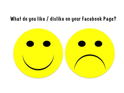 What do you like / dislike on your Facebook Page?
