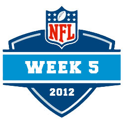 2012-13 NFL Week 5 Logo