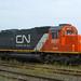 CN Locomotive EMD SD40-2 5937