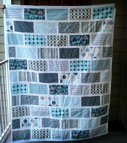 Colorbrick Quilt for Natalie by Tree Casiano
