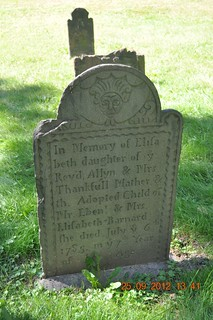 Elizabeth Mathers died July  1785