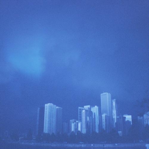 [フリー画像素材] 建築物・町並み, 都市・街, ビルディング, 風景 - アメリカ合衆国, 青色・ブルー ID:201210051600