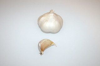 09 - Zutat Knoblauch / Ingredient garlic
