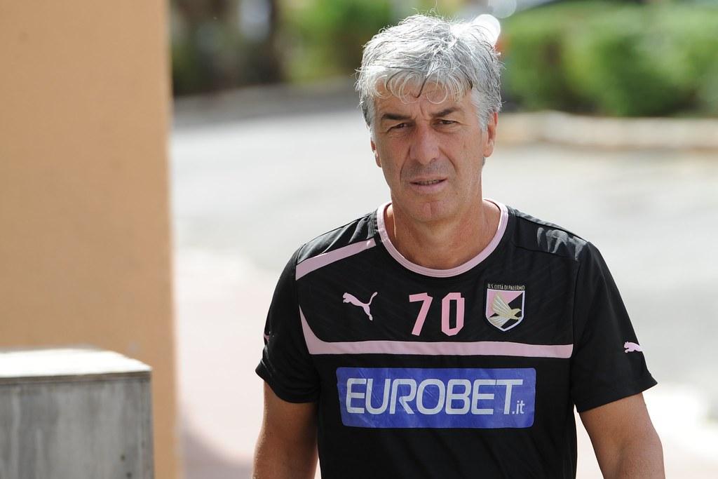 Calcio, Palermo: Zamparini fa visita a Gasperini$